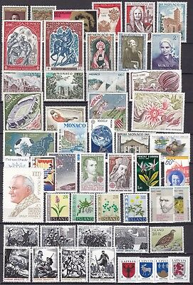 Worldwide Commemoratives 2 X Scans (23) Mint Never Hinged