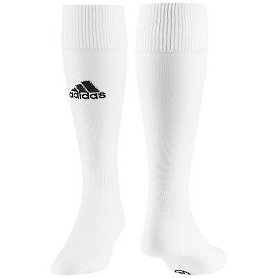 adidas Performance Milano Kids Junior Football Soccer Training Socks - White