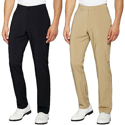 Under Armour UA Mens Tech Golf Classic Straight Leg Trousers Bottoms Pants