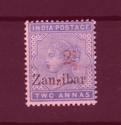 Zanzibar 1896 SG # 27 surcharge type 7 with small z vf MINT
