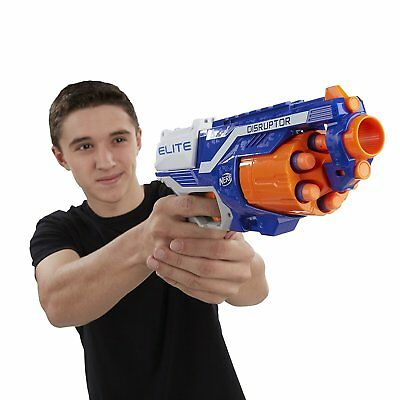 NERF Blaster N-Strike Elite Disruptor Toy Rapid Fire Target Gun Blaster Kids