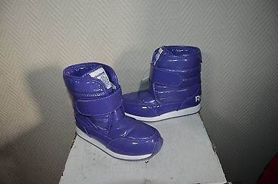Chaussure Bottes Fourre Boots Apres Ski  Reebok  Taille 30.5 Shoes Neuf
