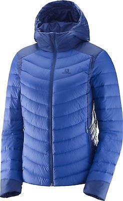 Salomon Halo Ladies Down Jacket - Blue