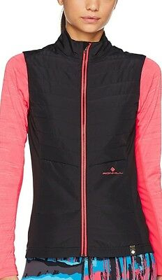 Ronhill Stride Winter Ladies Running Gilet - Black