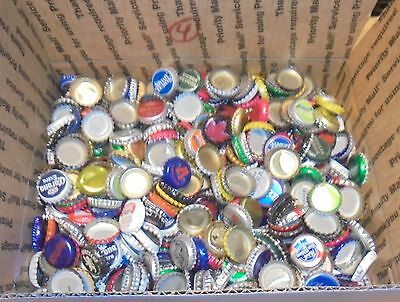 7 lbs used beer bottle caps for crafts box #4 free us shipping