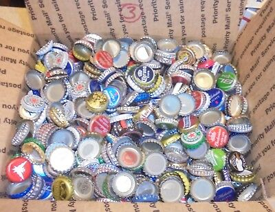 7 lbs used beer bottle caps for crafts box #3 free us shipping