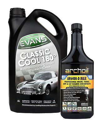 Evans Classic Cool 180 - 5 Litres, Waterless Engine Antifreeze / Coolant