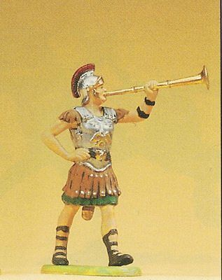 Roman in March Fanfare Preiser Elastolin 50203 Scale 1:25 Collector's Figurine