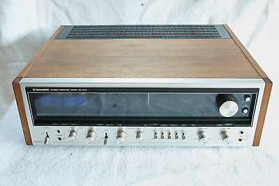 Vintage Pioneer Sx-1010 Stereo Reciver.110Wpc.phono.23Kg Monster.excellent Sound