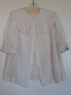 Daniels and Fisher Stores CO. Denver Colo Lightweight Lined Vintage Child's Coat