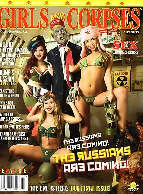 Girls And Corpses Magazine Vol. 11 (Summer / Fall 2017)