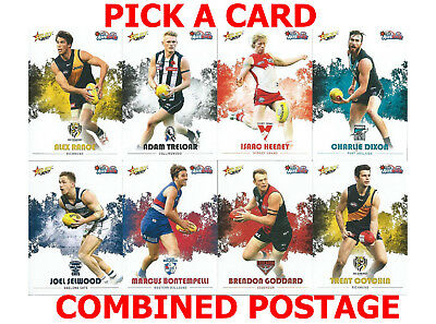 Rare Collectable 2017 Afl Auskick Common Cards