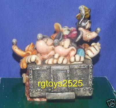 Disney Harmony Kingdom box Hollywood Tower Hotel New Mickey 2008 Limited Edition