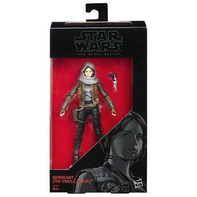 "Star Wars Sergeant Jyn Erso The Black Series 6"" Hasbro Action Figure"