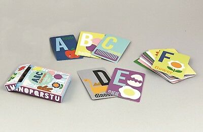 Floss & Rock Alphabet Flash Cards ABC Card Game Educational Learning Kids Gift