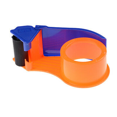 "Sealing Packaging Parcel Plastic Roller 2"" Width Tape Cutter Dispenser FG"