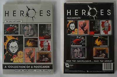 Heroes Collection of 8 Postcards Tim Sale Artwork New