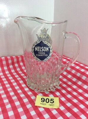 Nelson Tipped Cigarettes Glass Jug