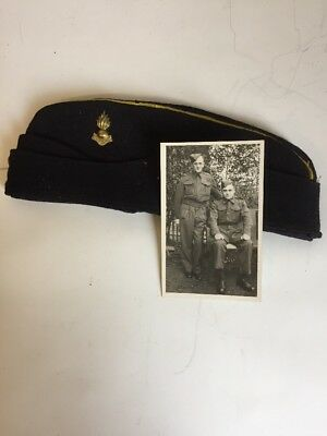 World War 2 British Army Royal Engineers Beret With Ubique Badge
