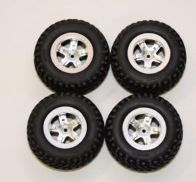 Traxxas  Slash 2wd Wheel And Tyre Set  From Model 58034-1