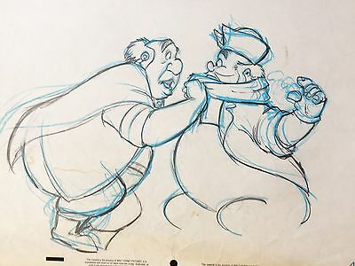 Beauty and the Beast 1991 Maurice KEY original production cel drawing