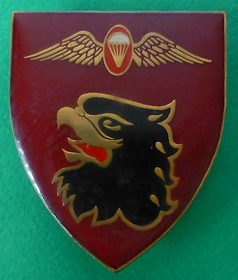 44 Parachute Brigade Para Instructor Eagle Red South African  Airborne Arm Badge