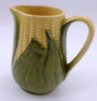 EUC Prim 1940s 1950s Era Shawnee Pottery Corn King #70 Small Pitcher Creamer