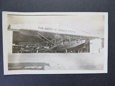 Original 1930's Photograph - Pan American Sikorsky S-40 Southern Clipper