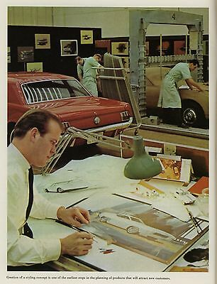 brochure voiture americaine ANNUAL REPORT FORD  1965 MODELES 1966