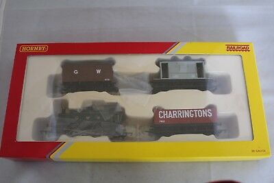 Railroad Train pack R2670 Loco & 3 wagons VGC