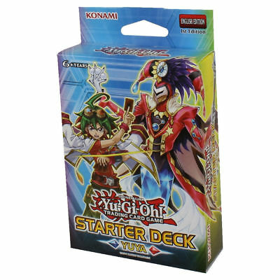 YUYA STARTER DECK Yugioh NEW Factory SEALED YS16 structure