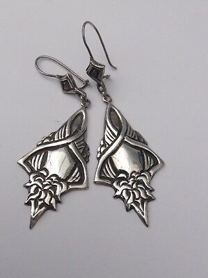 Silver Earrings Stunning Superb Detail