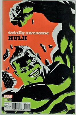 Marvel Comics THE TOTALLY AWESOME HULK #3 CHO VARIANT 1:20 FIRST KID KAIJU