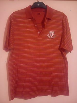 Old Padeswood Golf Club Red Polo Shirt Size L Murray Golf Mold North Wales Nw