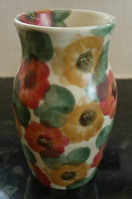 Ben Thomas Hand Painted Floral Vase