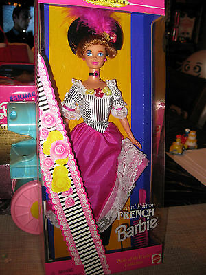 """Barbie """"french"""" Dolls Of The World #16499"""