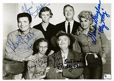 The Beverly Hillbillies Granny Ellie May Jethro autographed 5 x 7 reprint