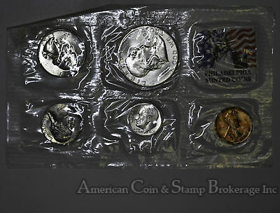 1960 P United States Silver Mint Set Birthday Gift 57 / 58 Years old