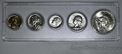 1960 D United States Silver Mint Set Birthday Gift 57 / 58 Years old