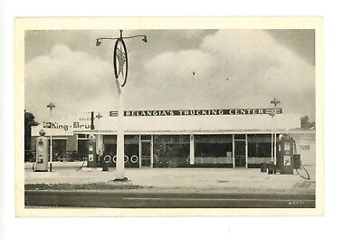 Belangia's Texaco Gas & Trucking Center US 1 US 301 Petersburg, Virginia c1940s