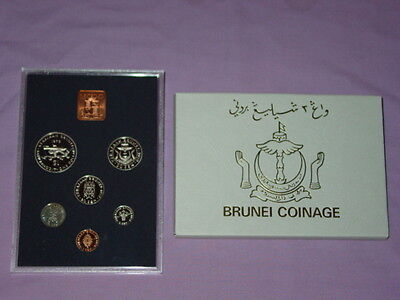 1979 Royal Mint Proof Set Of Coins For Brunei