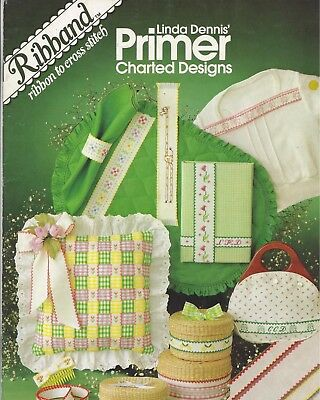 Primer Charted Designs, ribbon to Cross stitch  Booklet