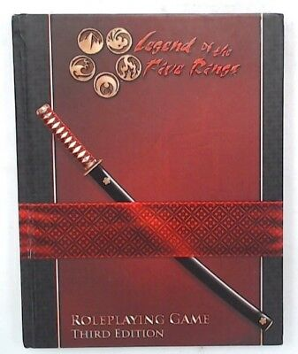 LEGEND OF THE FIVE RINGS Roleplaying Game Third Edition Core Rulebook AEG - S72