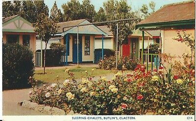 Butlins Holiday Camp Clacton  Sleeping Chalets C14 Pc