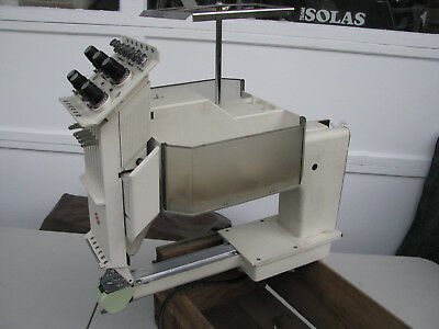 MELCO EMC 6/4T SIX (6) NEEDLE HEAD from COMMERCIAL EMBROIDERY MACHINE