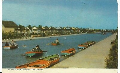Butlins Skegness The Beach 1955 Pc