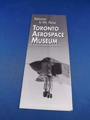 Welcome To The New Toronto Aerospace Museum Brochure Flyer Aircraft Planes