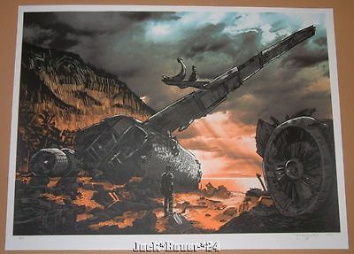 Lost Tim Doyle Didn't Stick The Landing Poster Art Print Signed Artist Proof