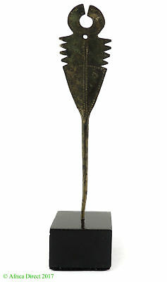 Dogon Brass Hairpin Mali African Custom Base