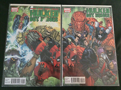 HULKED OUT HEROES #1, 2 Complete Mini-Series VFNM Condition